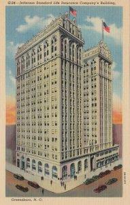 GREENSBORO , North Carolina , 30-40s ; Jefferson Standard Life Company's Bldg.