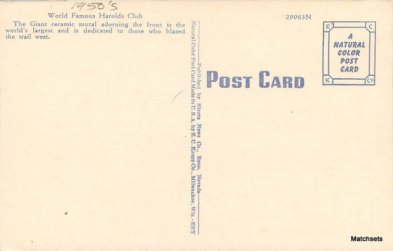 dating ec kropp postcards Indiana postcards & post cards (r - z grotto at notre dame, south bend, ind / e c kropp co pertinent information on back $2 25 i ec.