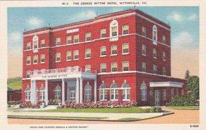 Virginia Wytheville The George Wythe Hotel