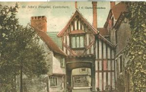 United Kingdom, St. John's Hospital, Canterbury, 1922 use...