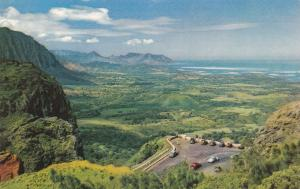 OAHU, Hawaii, 40-60s; Nuuanu Pali (Precipice), Breathtaking View