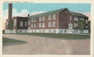 ALBANY , Alabama , 1910s ; Albany High School