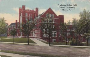 Exterior,  Prudence Risley Hall,  Cornell University,   Ithaca,  New York,  P...
