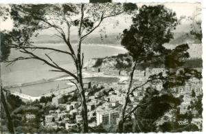 Nice, Vue generale, 1952 used Postcard Real Photo
