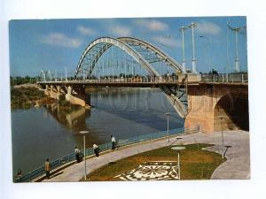 192846 IRAN AHWAZ bridge old photo postcard