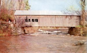 Tunbridge Covered Bridge VT, Vermont