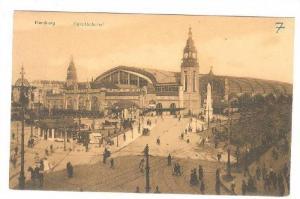 RP; Bird's Eye View of Railway Station, Hauptbauhnhof, Hamburg, 00-10s