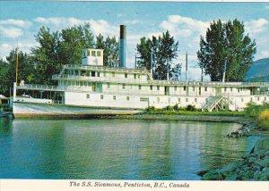 Canada The S S Sicamus Penticton British Columbia