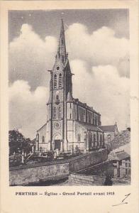 France Perthes Eglise Grand Portail avant 1918