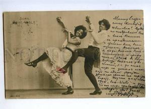 193457 CAKE WALK Black Women DANCER Vintage PHOTO BECKER 1903
