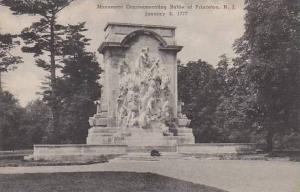 New Jersey Princeton Monument Commemorating Battle Of Princeton Albertype