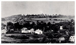 Connecticut  Eastford Bicentennial Card , View from the Castle
