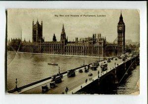 3150917 UK LONDON Big Ben Vintage photo postcard