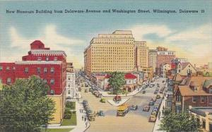 Delaware Wilmington New Nemours Building From Delaware Avenue And Washington ...