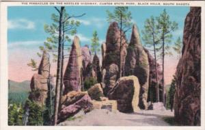 South Dakota Black Hills Custer State Park The Pinnacles On The Needles Highway