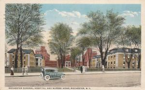 General Hospital and Nurses Home - Rochester, New York - pm 1919 - WB