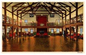 Kentucky Morganfield   Camp Breckinridge , interior Service Club