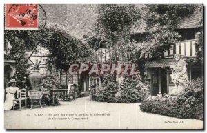 Old Postcard Dives sur Hostellerie Guillaume sea the Conqueror A corner of th...