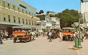 MI - Mackinac Island Street Scene