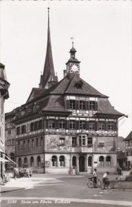 RP: Stein am Rhein, canton of Schaffhausen , Switzerland, 30-40s ; Rathaus