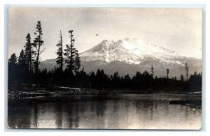 Postcard Mt Hood, Oregon OR AZO 1917-1930 RPPC I22
