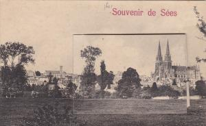 Souvenir de Sees, Orne department (Normandy region), France, 00-10s; Pop-outview