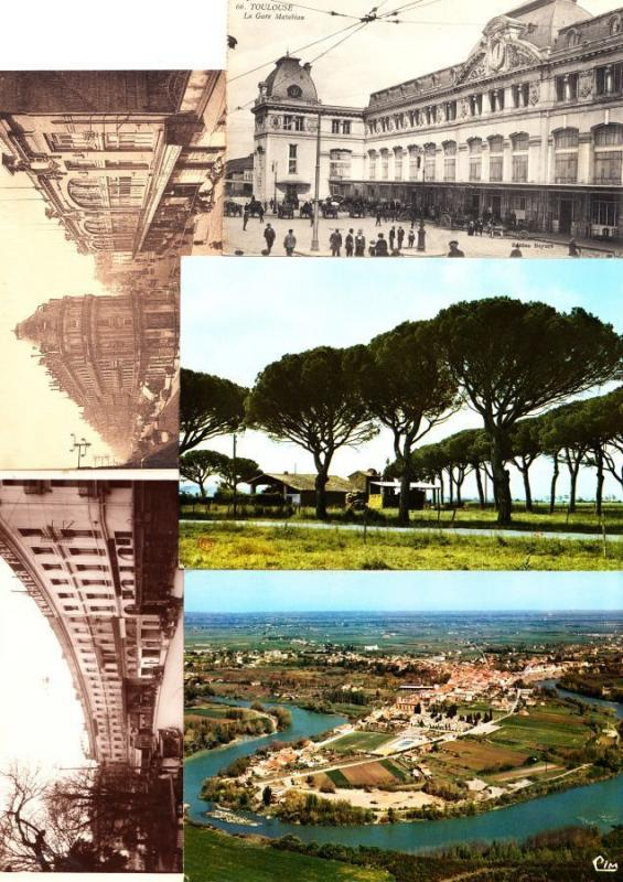 HAUTE-GARONNE Midi-Pyrénées (Dep 31) 328 Cartes Postales 1900-1940
