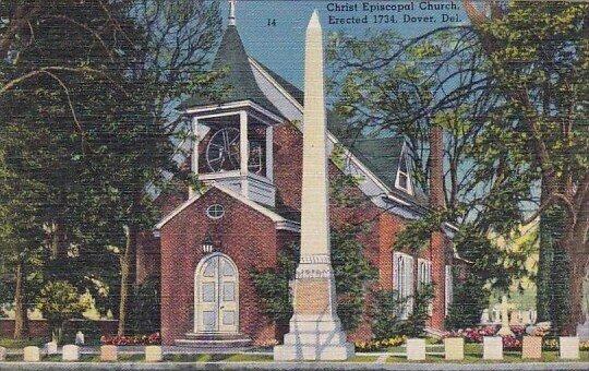 Christ Episcopal Church Erected 1734 Dover Delaware