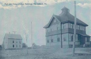 OLD ORCHARD BEACH , Maine , 1900-10s ; High & Primary School Buildings