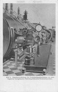 Hanomag Factory Industry 9. intermediate steam extraction, regulating device