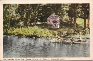 The Guardian Devils Gap Kenora ON Ontario c1950 Postcard D70