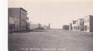 RP; ASQUITH , Saskatchewan , Canada , 00-10s , Main Street
