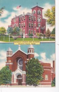 Texas Wichita Falls Catholic Church and Academy 1953