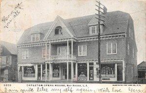 H36/ Bay Shore Long Island New York Postcard 1906 Carleton Opera House