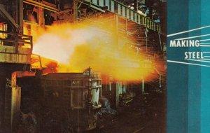 JOHNSTOWN , Pennsylvania, 50-60s; Making Steel, Bethlehem Steel Corp.