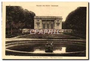 Old Postcard Palace of the Petit Trianon Palace Petit Trianon