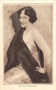 Pauline Frederick, Edwardian Actress Pictures Portrait Gallery