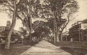 trinidad, PORT OF SPAIN, Marine Square (1910s)
