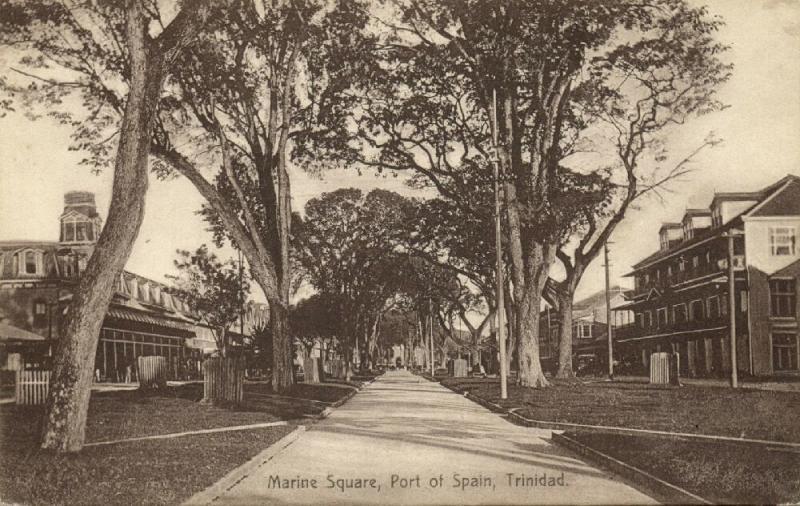 trinidad, PORT OF SPAIN, Marine Square (1910s)