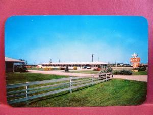 Postcard NE Lincoln Starlite Motel