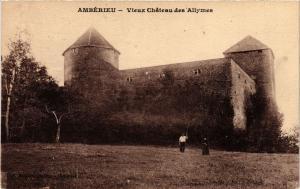 CPA AMBÉRIEU Vieux Chateau des Allymes (382838)