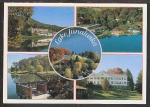 Multi View Lake Junaluska NC Postcard BIN