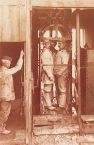 Nostalgia Postcard Cornish Miners, Cornwall 1900 #WK14/1