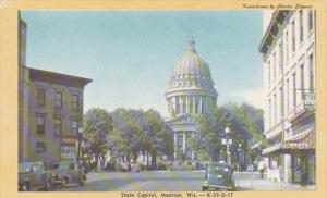 Wisconsin Madison State Capitol Building Dexter Press
