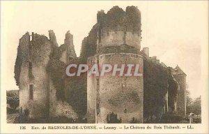 Postcard Old Approx Bagnoles of Orne Lassay Le Chateau du Bois Thibault