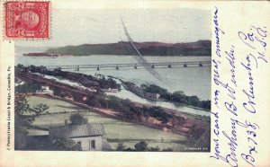 USA Pennsylvania Canal & Bridge Columbia 06.48