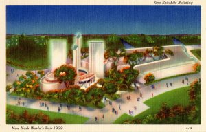 NY - NY World's Fair, 1939. Gas Exhibits Bldg