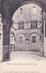 SIENA, Toscana, Italy, 00-10s; Palazzo Comunate Il Cortile (XIV Secolo)