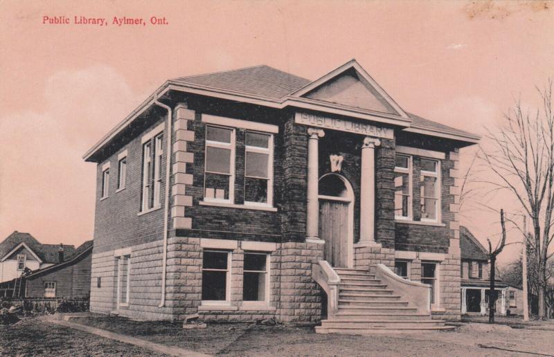 AYLMER , Ontario , 1900-10s ; Public Library