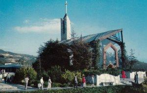 RANCHO PALOS VERDES , California , 1950-60s ; Wayfarer's Chapel
